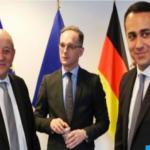 Germany, France, Italy chair international meeting on Libya in New York