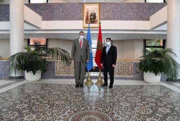 Moroccan FM receives UN envoy to Libya in Rabat