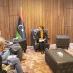 Foreign Minister, UN envoy discuss developments in Libya