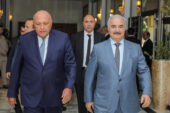Egypt's Shoukry in Benghazi for meeting with Haftar