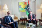 Dbeibeh holds talks with Di Maio in Tripoli