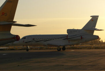 Libyan government's jet arrives in Abu Dhabi
