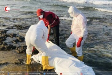 Bodies of 17 migrants washed ashore in western Libya