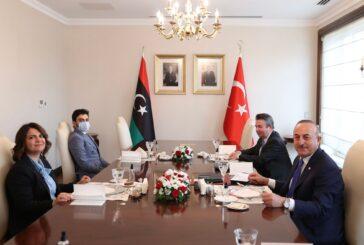 Chief diplomats of Libya, Turkey discuss December elections