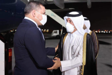 Libya PM arrives in Doha on official visit to Qatar