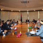 France, Libya discuss strengthening economic cooperation