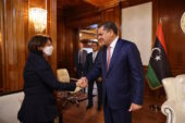 UN Under-Secretary General discuss foreign forces withdrawal from Libya, elections, migration with authorities in Tripoli